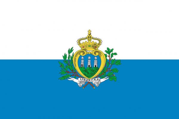 ciekawostki o San Marino - flaga